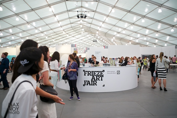 Welcome to Frieze 2014 photo by Max Noy Photo