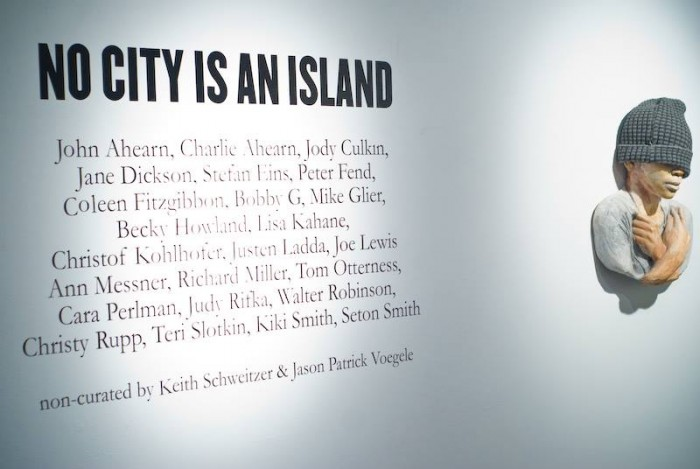 NO CITY IS AN ISLAND at The Lodge Gallery