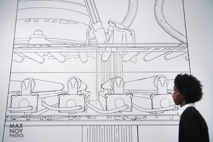 Massive and striking at Metro Pictures featuring Louise Lawler
