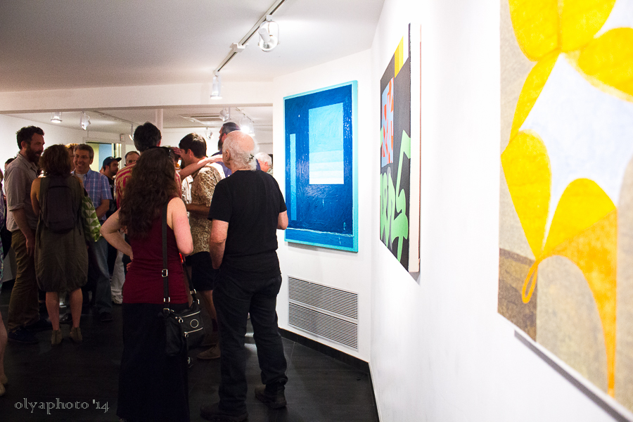 Second Sight opening at Brian Morris Gallery