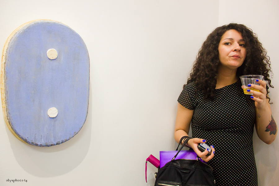 Two dots and more at Louis B. James Gallery