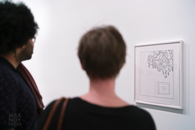 Viewing the work of Louise Lawler at Metro Pictures