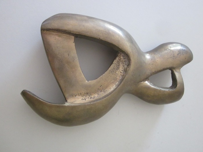 Amorphic Form 3 (Claw), Bronze