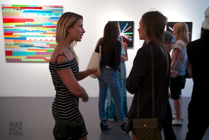 Art lovers go to the Bowery for Wednesday Art Night