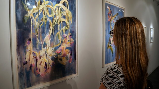 The Life of Flowers by Sirikul Pattachote at The Lodge Gallery