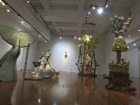 Fired Ice: New Sculptures by Kathy Ruttenberg at Stux Gallery