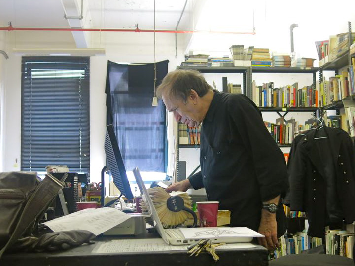 Interview with Vito Hannibal Acconci