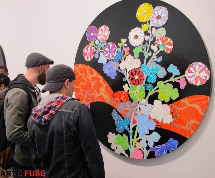 """""""Takashi Murakami: In the Land of the Dead, Stepping on the Tail of a Rainbow"""" at Gagosian Gallery"""