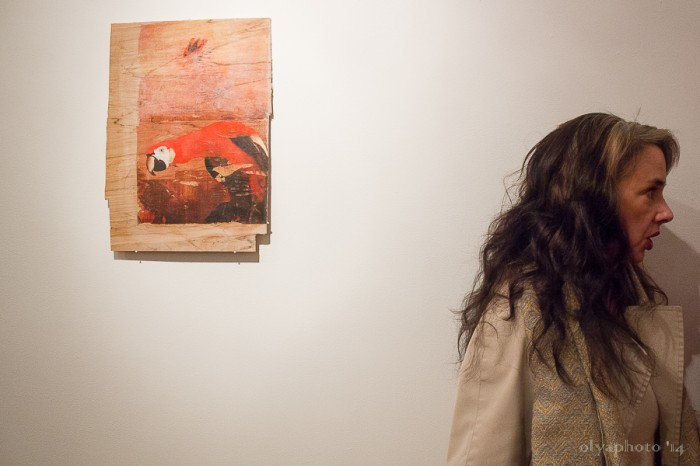 Arianna Carossa Opening at Rooster Gallery