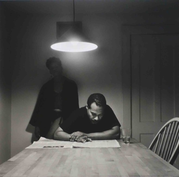 Carrie Mae Weems, Untitled (from Kitchen Table   Series)