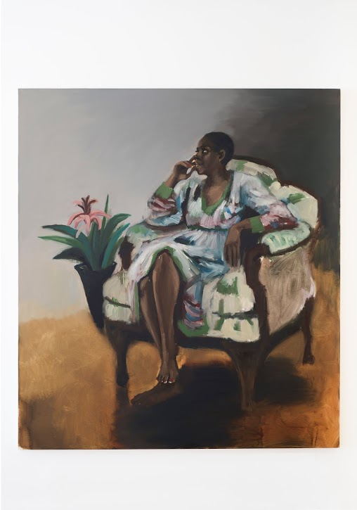 The Love Within by Lynette Yiadom-Boakye at Jack Shainman Gallery on 20th Street