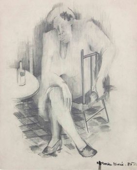 Norman Lewis, Untitled (Study for a Painting)