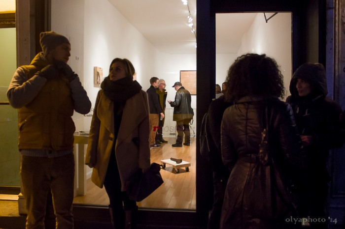 Welcome to LES Art Night at Rooster Gallery