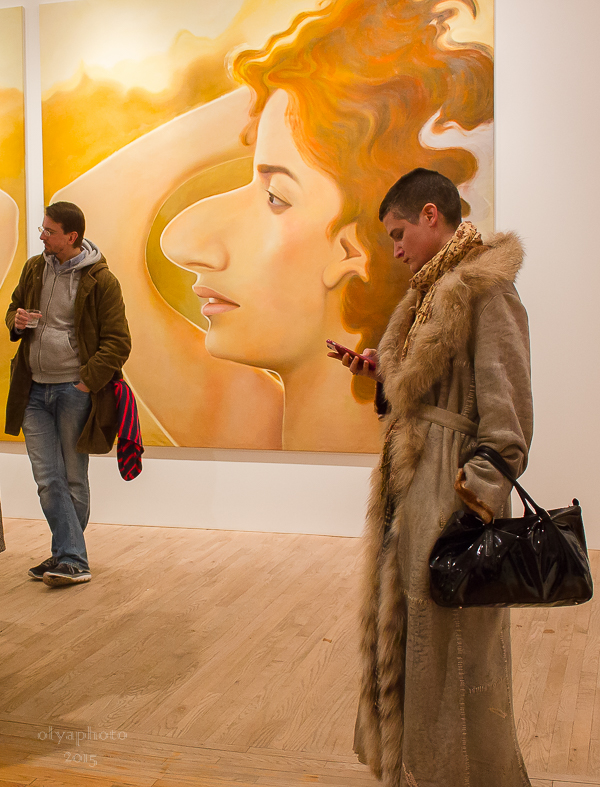 Fabulous art fans at Postmasters Gallery