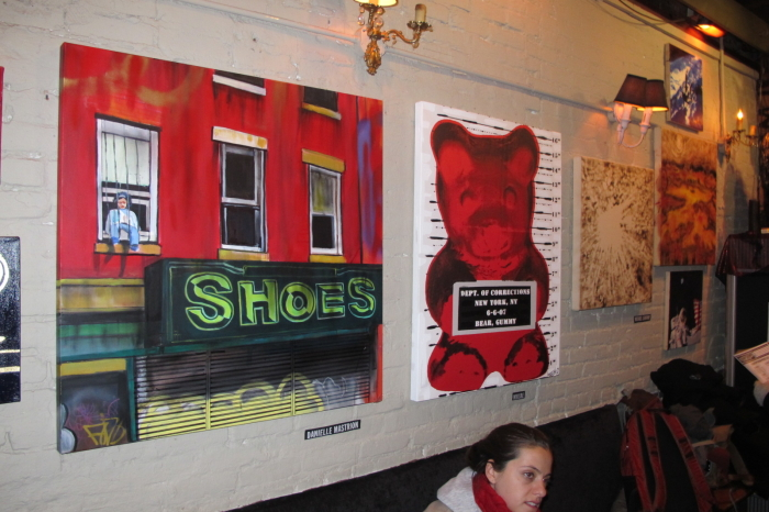 (L-R) art by Danielle Mastrion, Whisbe and Michael Serafino