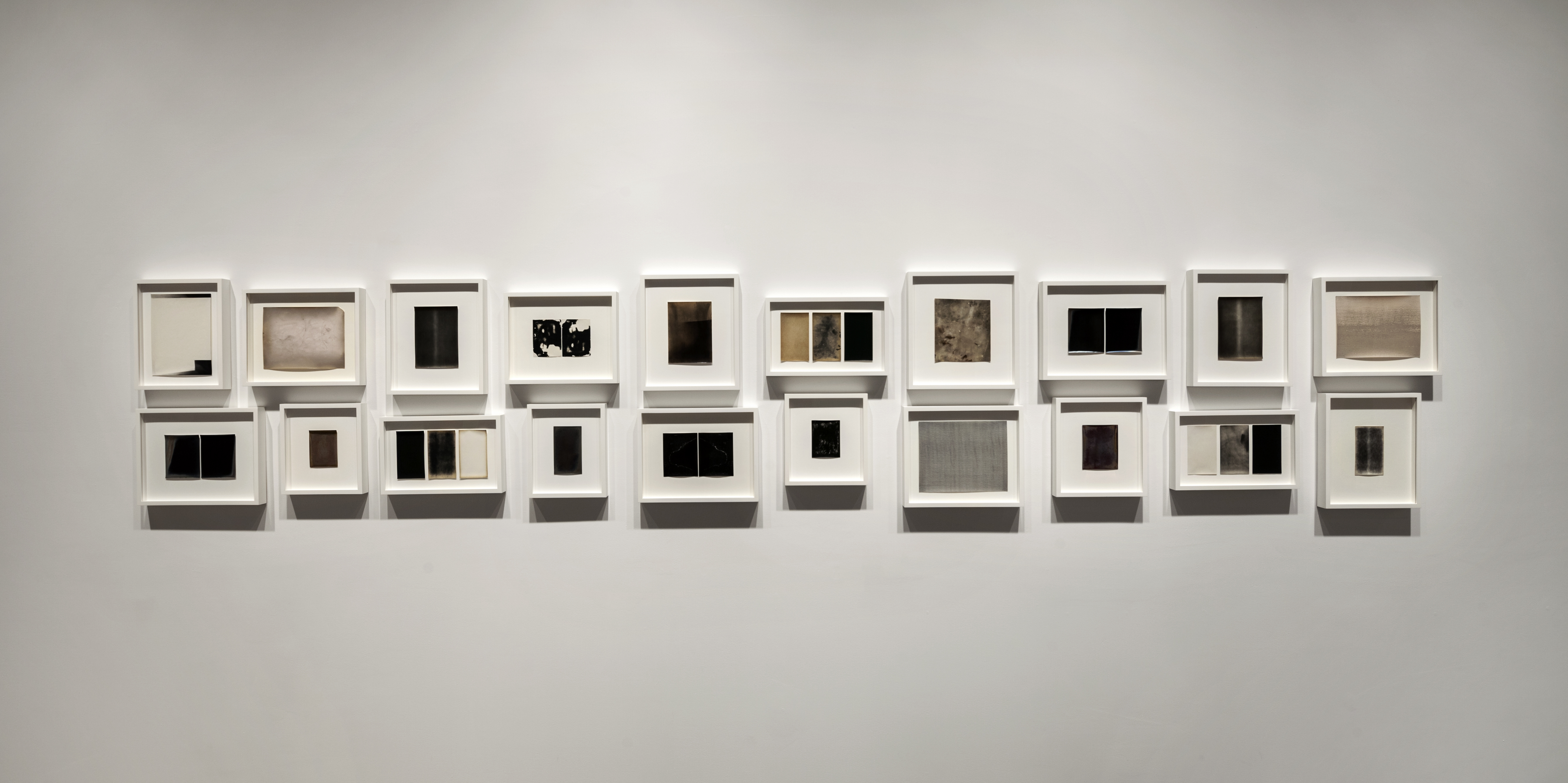 Paper Wait by Alison Rossiter at Yossi Milo Gallery