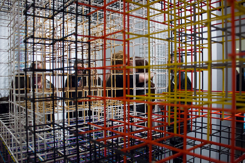Art denizens within the structures of Alois Kronschlaeger