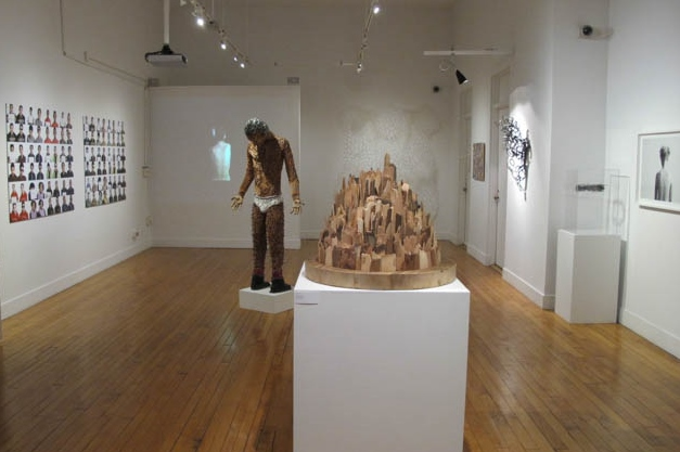View of Repsychling Group Exhibition