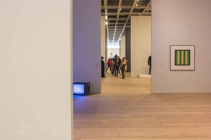 Press preview for the new Whitney Museum of Art