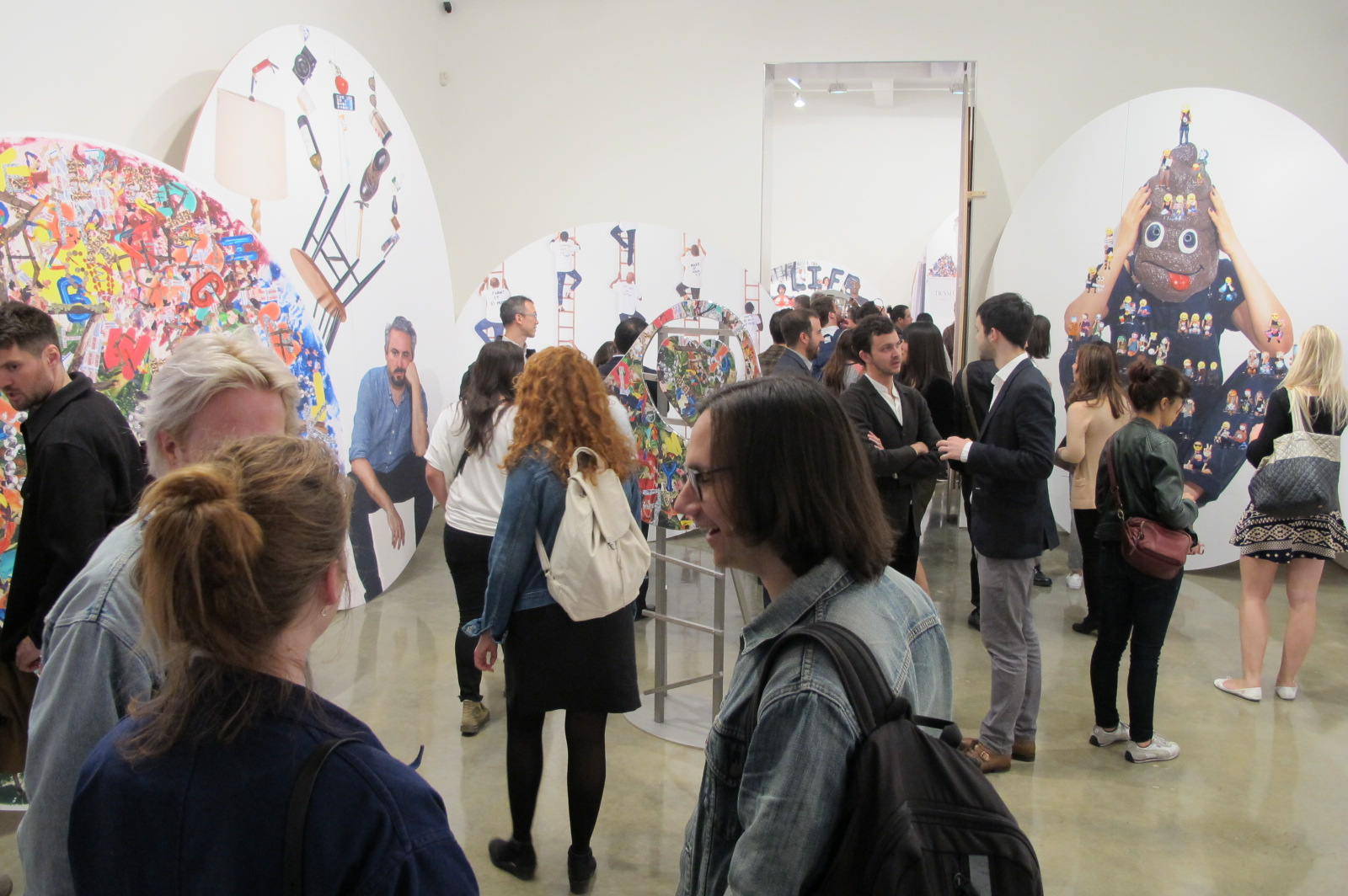Olaf Breuning: The Life at Metro Pictures