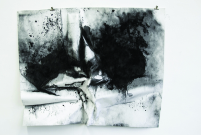 Lucia Kempkes, Untitled (landscape), drawing, max. 200 x 300 cm, installation/presentation variable, 2014
