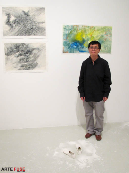 Meiling Liu and HsiangLu Meng: Being Here at Cuchifritos Gallery