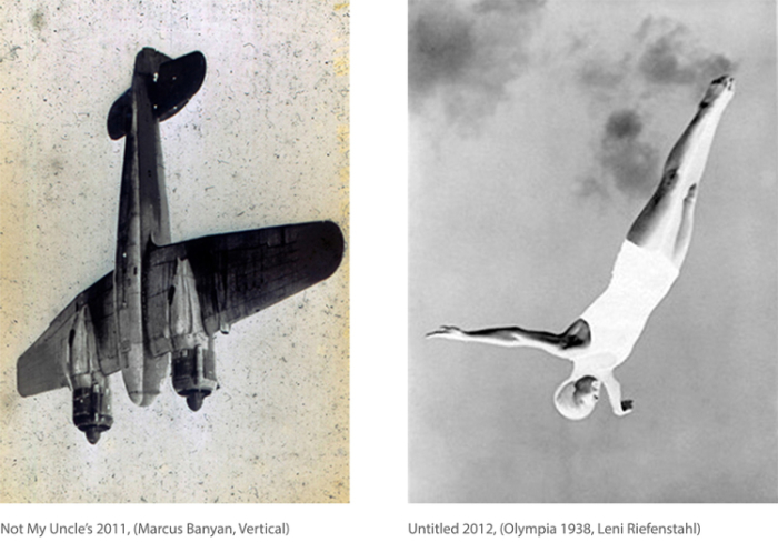 Untitled (Olympia 1938, Leni Riefenstahl), (from the Hippocampus series of works), 2012 © Courtesy the artist