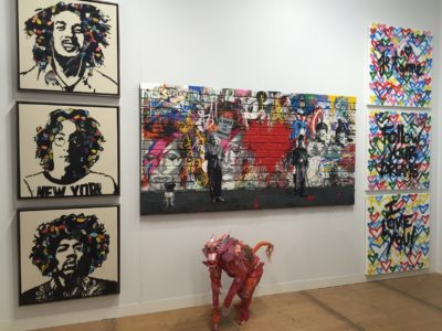 © 2016 Mr. Brainwash. All Rights Reserved (Installation view, courtesy Contessa Gallery)