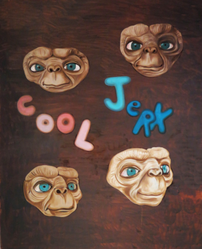 Cool Jerk, 2016, 45 x 38 inches, oil on canvas