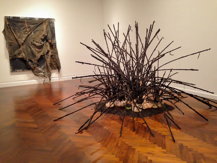 Installation View from David Hammons, Five Decades