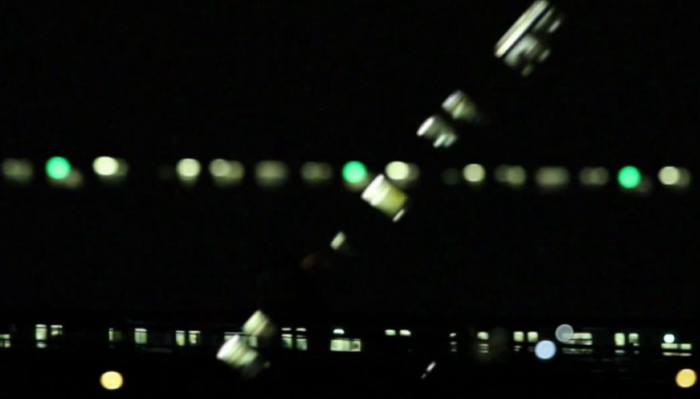 Video still of City Lights 2 (2012) by Graciela Cassel
