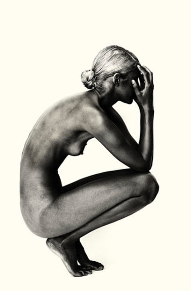 """Brian Bowen Smith, """"White Series 2,"""" 2014 Nikon museopaper, 70 × 44 in (images Courtesy DeReGallery, Los Angeles)"""