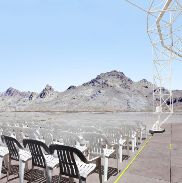 Landscape With Chairs, 2016 40 x 40 inches, 101,6 x 101,6 cm Ed. 1/7 +2 A.P. 30 x 30 inches, 76,2 x 76,2 cm Ed. 1/7 +2 A.P. Archival pigment print