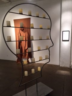 Nicola L, Nicola L and The New Millennium; The Head, LaTête, La Cabeza, Il Capo, Der Kopf. A long day's journey to the end of the skin, installation view at Elga Wimmer PCC, New York, 2016.