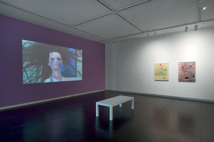 Installation view: Katie Torn, The End of Flutter Valley