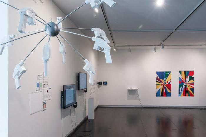 Installation view: Eyebeam in Objects