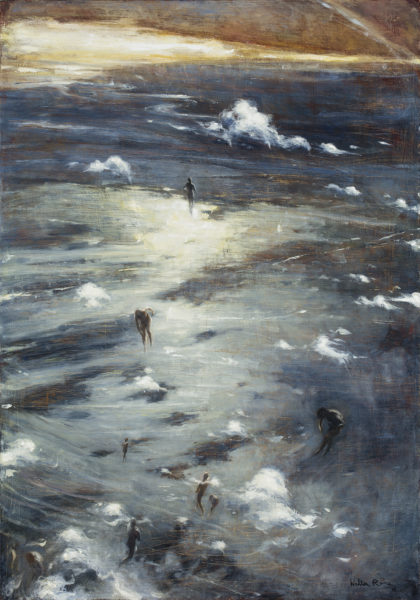 Walter Rane, Rising, oil on canvas, 50 x 35 inches