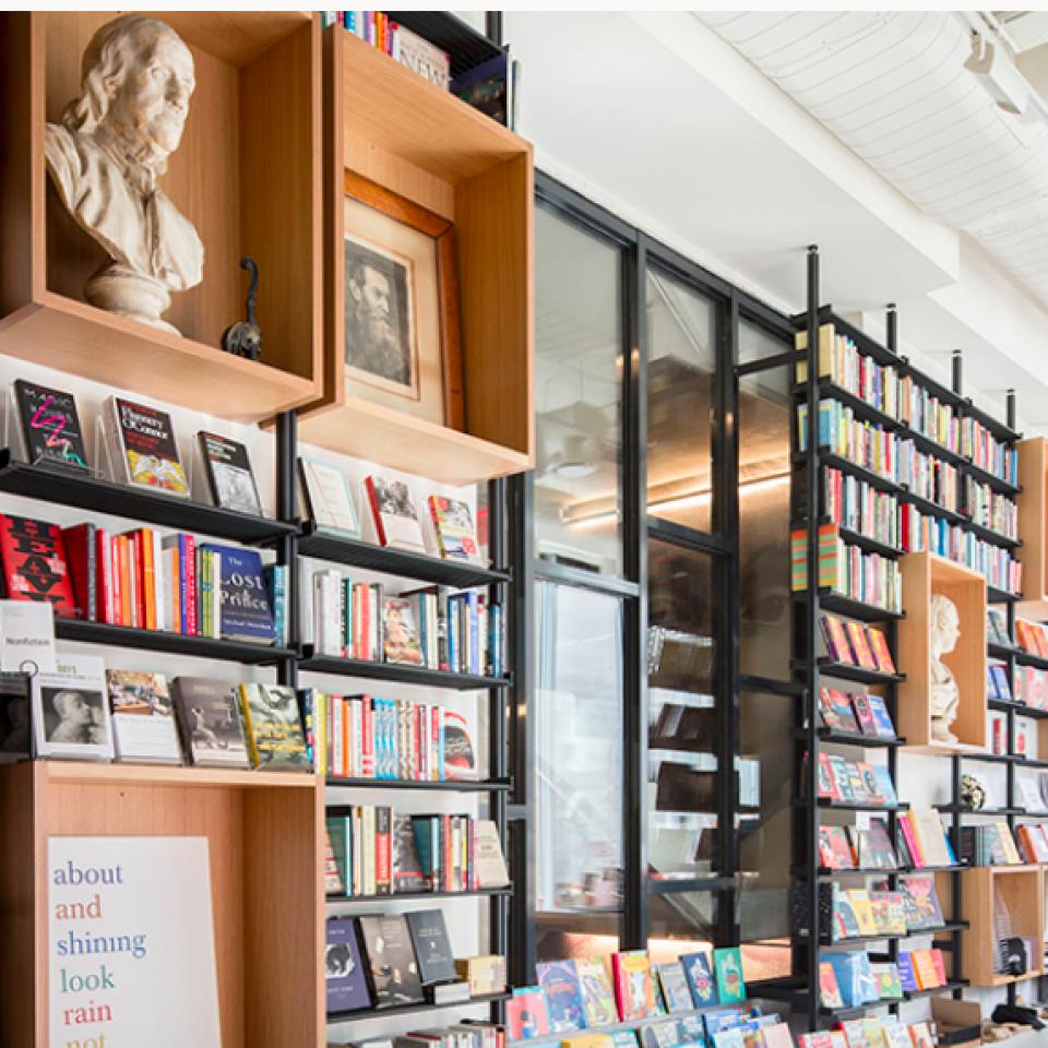 Center For Fiction – Featured in Interior Design Magazine