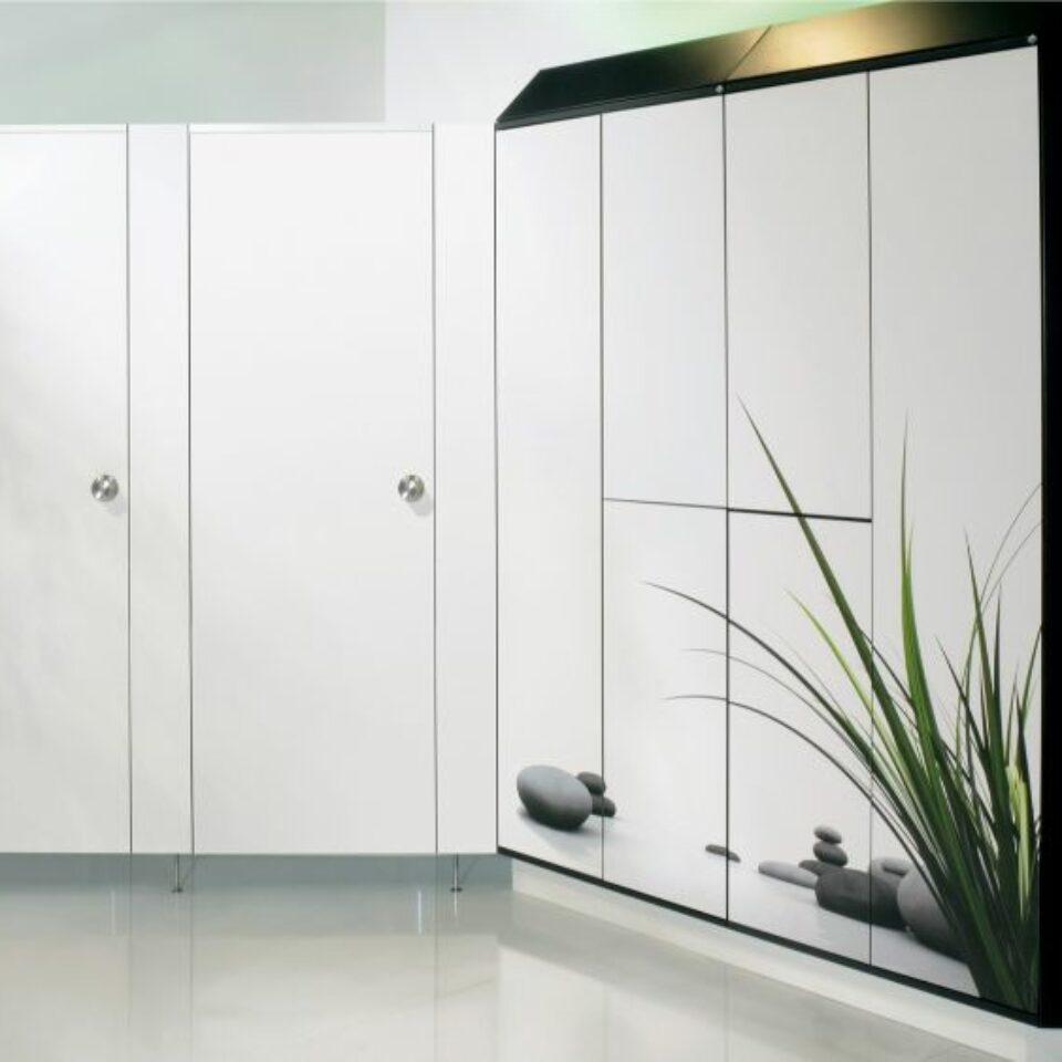 Glass Lockers (6)