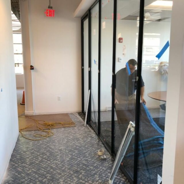Industrial Demountable Glass Wall Partitions for and Investment Advisors Firm (1)