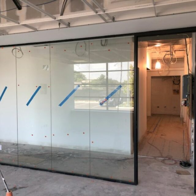 Industrial Demountable Glass Wall Partitions for and Investment Advisors Firm (9)
