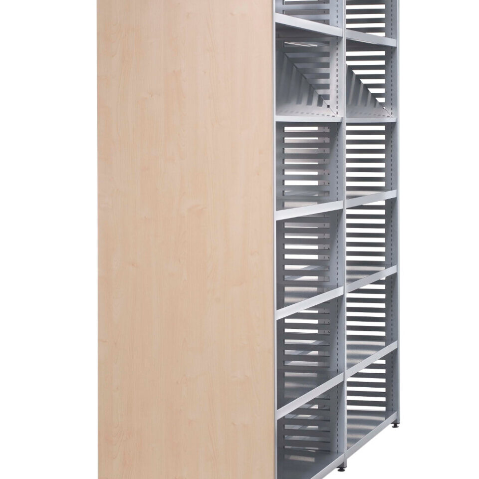 Sysco Library Laminate End Panel
