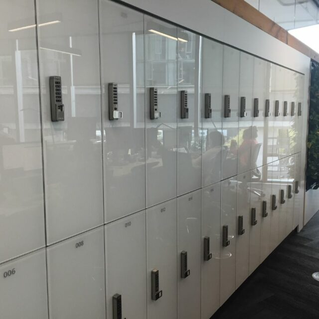 CP Glass Lockers for Delos