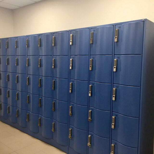 Lockers for a hotel chain (3)