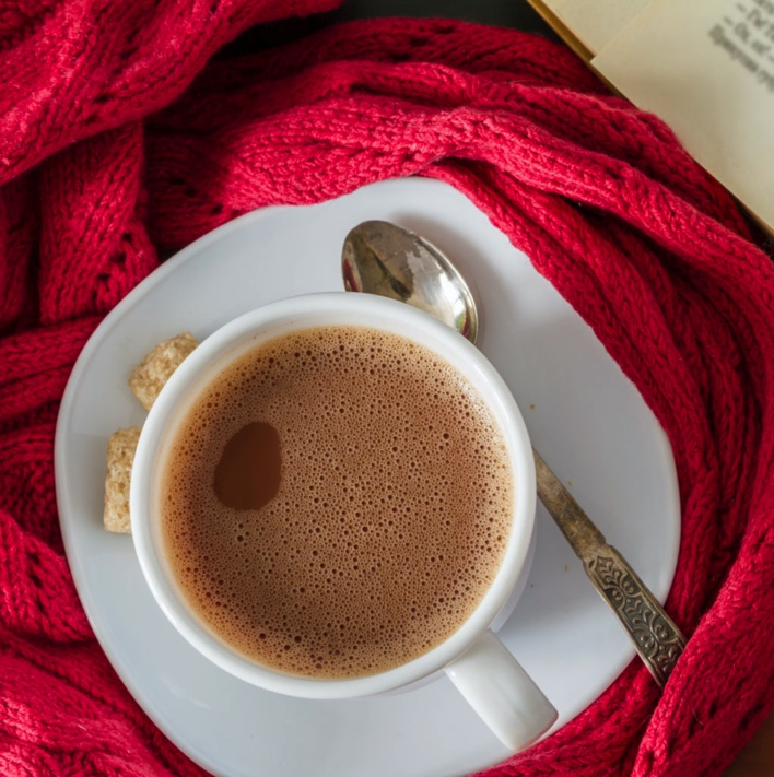 Hot Chocolate and a Great Book– The Power of Positive Thinking