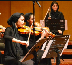 Congratulations to Professor Fatemeh Keshavarz on bringing together Iranian musicians and American singers for a historic digital performance