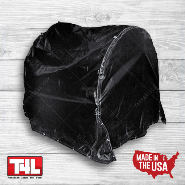 5' x 5' x 5' Fitted Coil Bag (18 oz. Black Only)