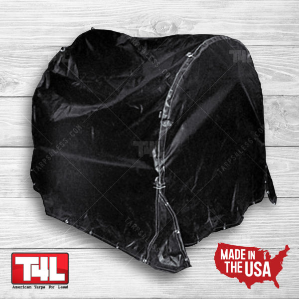 6' x 6' x 5' Fitted Coil Bag (18 oz. Black Only)