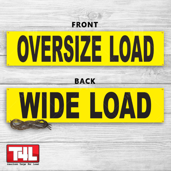 Oversize/Wide Load Signs