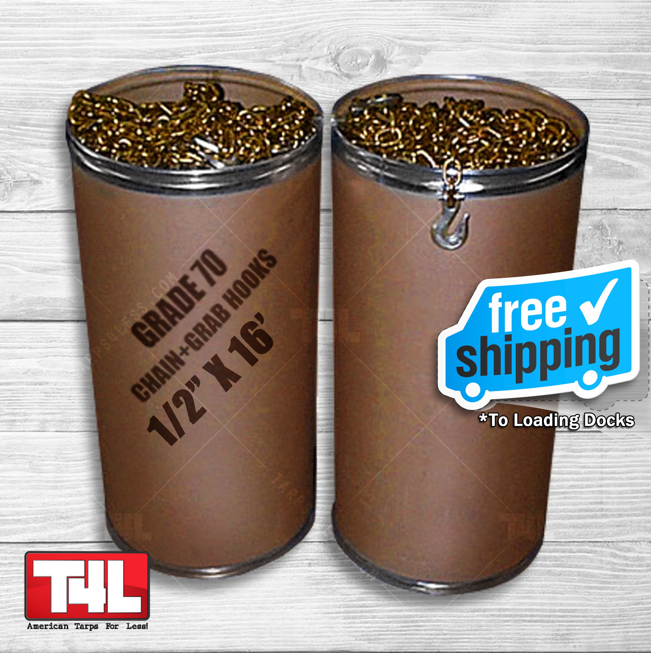 """Double Barrel Chain Special 1/2"""" X 16'"""